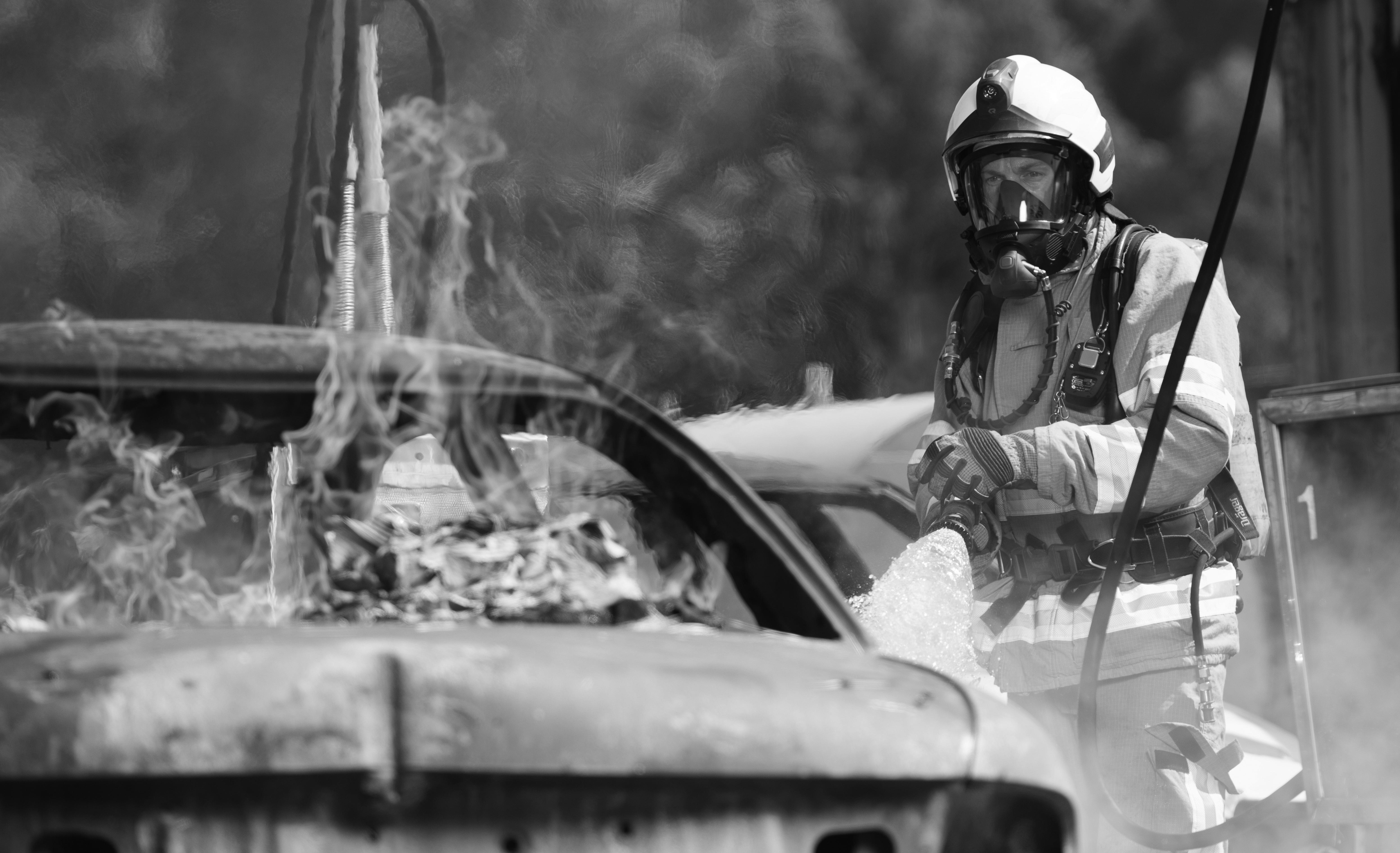 Firefighter Simon